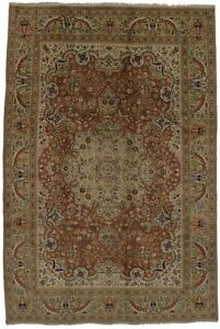 Semi Antique Large Classic Tabatabaei 6 4x9 7 Persian Rug Oriental Home Carpet