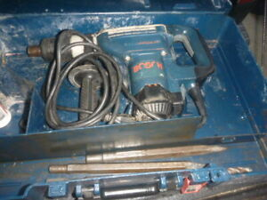 Bosch Hammer Drill 11247 With 3 Bits