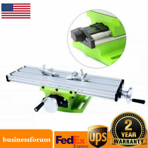 Milling Machine Worktable Cross Sliding Bench Drill Vise Fixture Table Precision