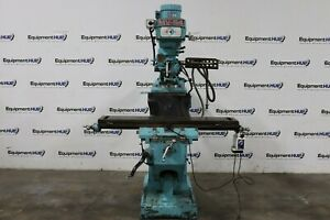 Amstar Mv 54 10 X 54 Variable Speed Vertical Milling Machine W Power Feed