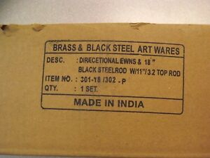 Weathervane Brass Black Steel Art Wares N S E W Directionals Made In India