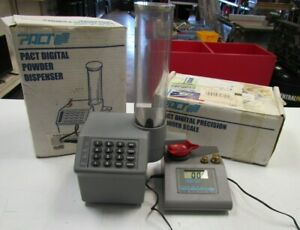 Pact Powder Dispenser and Powder  Scale Combo PACT Digital Precision RCBS