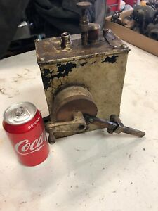 Antique Bowser Ratchet Driven Mechanical Oiler Lubrictaor Steam Engine Tractor
