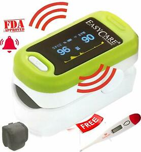 Trustcare Fingertip Pulse Oximeter With Audio visual Alarm Free Ship