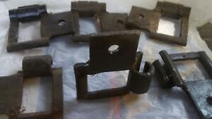 6 Vintage Chain Connecting Links For Silage Wagon