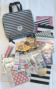 Happy Planner Lot Case Stickers Disks Notes 6 Month Exp More Some New See Desc