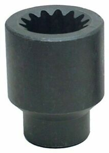 Wright Tool 5860 1 7 8 inch With 5 Spline Drive 6 Point Impact Socket Usa Made