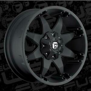 Mht Fuel Offroad D509 Octane 20x9 Wheel With 6 On 135 And 6 On 5 5 Bolt Pattern