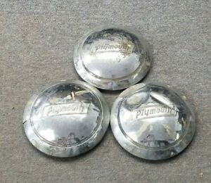 1930 s 1940 s Plymouth Hubcaps Wheelcovers Dogdish