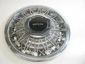 New Out Of Box 15 Wheel Hub Cap 1987 1989 Lincoln Town Car Nos Oem Ford