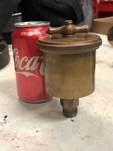 Ohio Injector Brass Greaser Oiler Hit Miss Steam Engine Tractor Lubricator