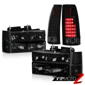 94 95 96 97 98 Chevy K1500 Tail Lights Parking Bumper Headlights Smd Assembly