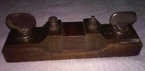 Antique Weston Meter Shunt 600amp 50mv Made In 1800 s Rare Electronic Collect