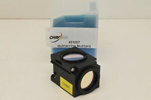 Olympus Chroma Tritc Fluorescence Filter Cube For Olympus Bx Microscopes 31002a