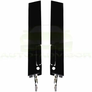 2pcs Exterior Outside Door Handle Front Left Right Side For 88 96 Buick Regal