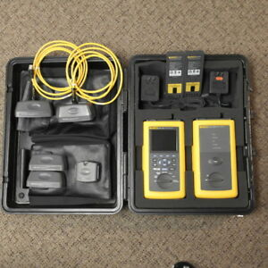 Fluke Dsp 4100 Cable Analyzer With Dsp 4100sr Smart Remote Excellent