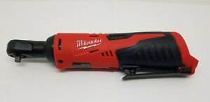 Milwaukee 2456 20 M12 12v Lithium Ion Cordless 1 4 Inch Ratchet Tool Only