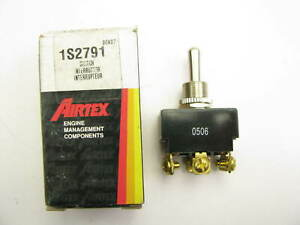 Airtex 1s2791 Universal Toggle Switch 3 Position 6 Terminal 50 Amp 15 32 Hole