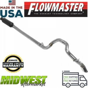 Flowmaster Cat Back Exhaust System Fits 2018 Jeep Wrangler Jl Unlimited 3 6l