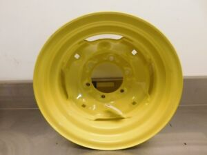 John Deere 3020 4020 Tractor Reproduction 8x15 6 Lug Front Rim 13335