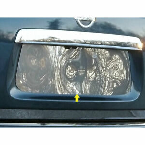 Stainless License Plate Bezel Fit For 2013 2019 Nissan Pathfinder Luxfx2071