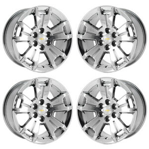 17 Chevrolet Colorado Truck Pvd Chrome Wheels Rims Factory Oem 5672 Exchange