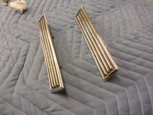 1965 Mercury Comet Cyclone And Caliente Top Of Quarter Panel Ornaments Used