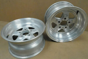 Weld Racing Pro Star Wheels 15x14 6 1 2 Back Space 4 1 2 Bolt Circle 1 Pair