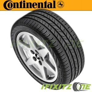 1 X New Continental Contiprocontact P215 45r17 87h All Season Performance Tires