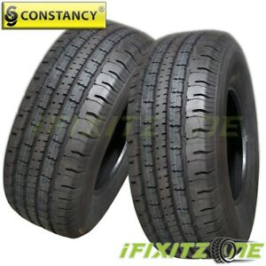 2 New Constancy Ly788 215 75r15 100t Durable All Terrain Tires