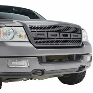 Full Upper Raptor Grill Front Hood Replacement Grille Fit 04 08 Ford F150