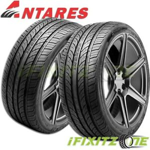 2 New Antares Ingens A1 225 45r17 Tl 94w All Season Performance Tires