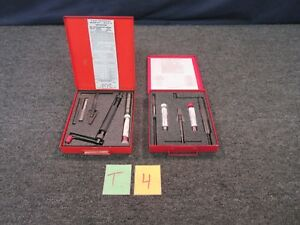 2 Helicoil Thread Repair Kit 1 2 20 X 75 Unf Tap Drill Aluminum Steel Tool New