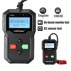 Kw590 Car Code Reader W Class Enhanced Obd2 Scanner Universal Automotive Check