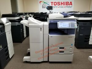 Toshiba E studio 4555c Color Copier printer scanner meter Low Under 35k