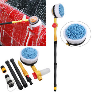 Car Pressure Washer Rotating Wash Brush Vehicle Care Washing Sponge Cleaner Tool