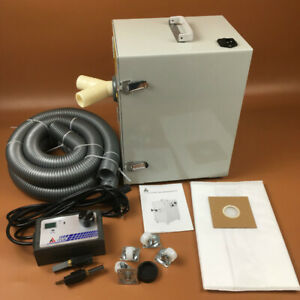Dental Dust Collector Digital Control Double Wheel Motor Strong Power For Dental