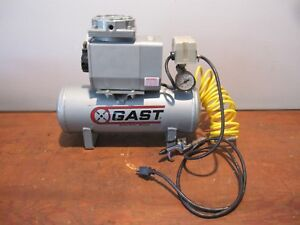 Gast Air Compressor Doa p106 aa Vacuum Pump Oil less Gast Air Tank Compressor