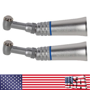 2pc Dental Low Speed Contra Angle Handpiece Push Button Seasky E type Connect