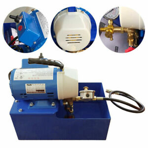 2 5mpa 110v Electric Pressure Test Pump Hydraulic Piston Testing Pump free Ship