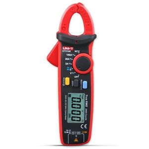 Mini Portable Accurate Clamp Shape Lcd Digital Multimeter Handhold Test Device