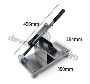 Stainless Kitchen Manual Control Meat Slicer Cutting Beef Mutton Sheet Food