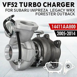 Oem Vf52 Turbo Fits Subaru Impreza Wrx Turbocharger 14411aa800 5 Bolt Safe