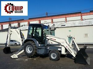 Unused New 2018 Terex Tlb840r Tractor Loader Backhoe 4x4 Heat