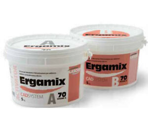 Ergamix 70 Shore Cad Silicone Can Be Milled Scanned For Dental Lab 2 X 1 5kg