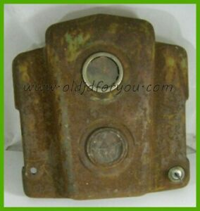 Ah645r John Deere H Dash Instrument Panel End Cap Fits Early Tractors Only