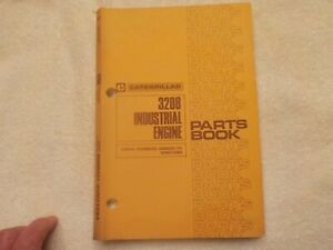 Caterpollar 3208 Industrial Engine Parts Book