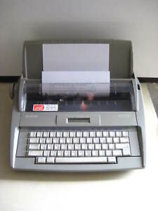 Brother Sx 4000 Electronic Typewriter W 16 Character Lcd Display