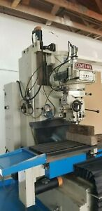 Comet Mv 5 Cnc Heavy Duty Vertical Milling Dynapath Bridgeport Lagune