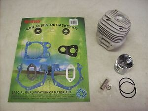 Husqvarna Partner K750 Cutoff Saw Cylinder And Piston Rebuild Kit W Gasket Set
